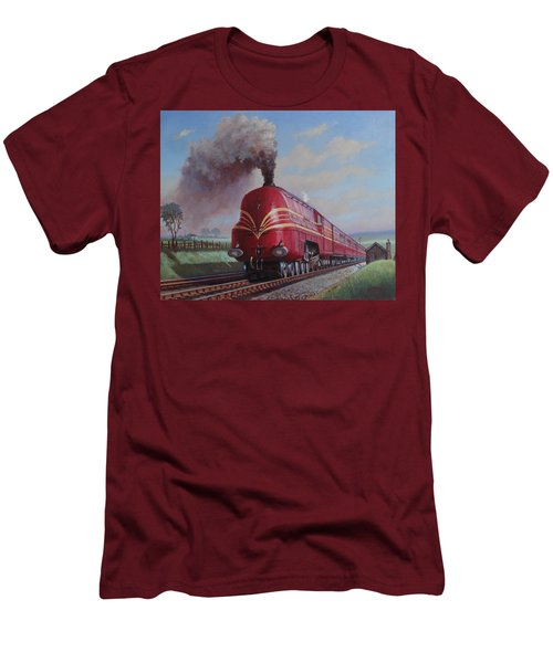 Lms Stanier Pacific Men's T-Shirt (Slim Fit) by Mike  Jeffries