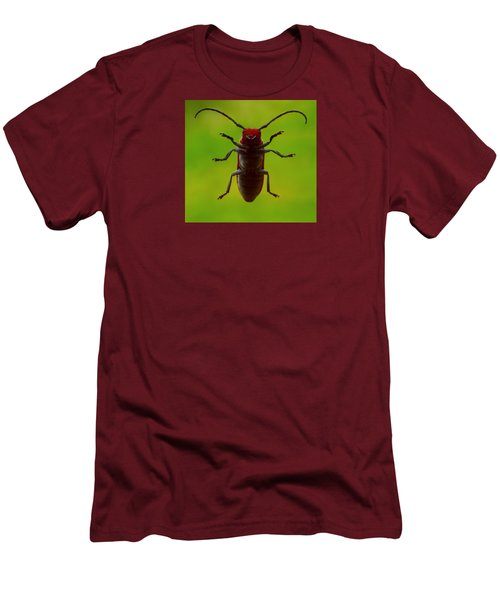 Love Bug Men's T-Shirt (Slim Fit) by Danielle R T Haney