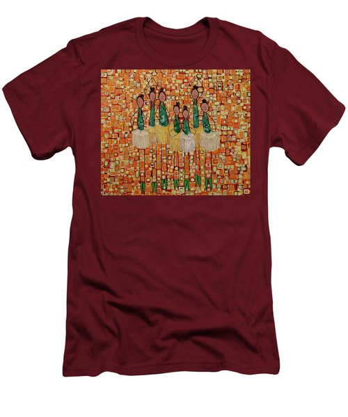 Lucky Seven Men's T-Shirt (Slim Fit) by Donna Howard