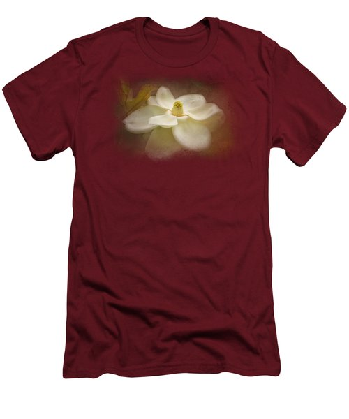 Magnolia In Bloom 2 Men's T-Shirt (Athletic Fit)