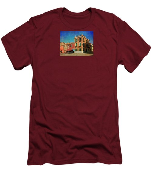 Men's T-Shirt (Slim Fit) featuring the photograph Malamocco Corner No3 by Anne Kotan
