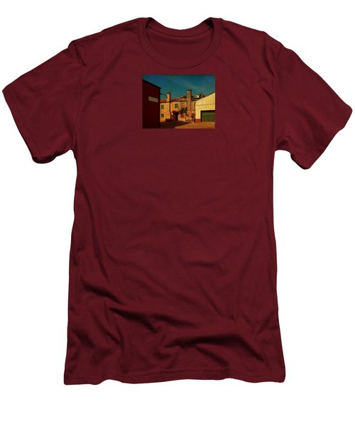 Men's T-Shirt (Slim Fit) featuring the photograph Malamocco House No2 by Anne Kotan