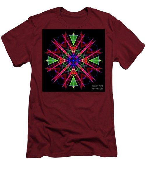 Men's T-Shirt (Athletic Fit) featuring the digital art Mandala 3351 by Rafael Salazar