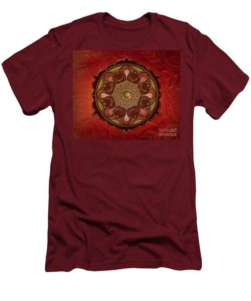 Mandala Flames Sp Men's T-Shirt (Athletic Fit)