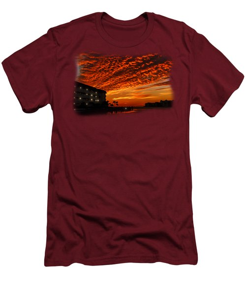 Marco Sunset No.9 Men's T-Shirt (Slim Fit) by Mark Myhaver