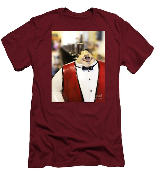 May I Take Your Wine Order Men's T-Shirt (Slim Fit) by Cheryl Del Toro