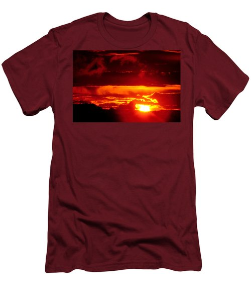 Men's T-Shirt (Slim Fit) featuring the photograph Moment Of Majesty by Bruce Patrick Smith