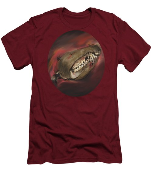 Monster Skull Men's T-Shirt (Slim Fit) by MM Anderson