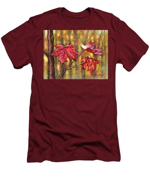 Morning After Autumn Rain Men's T-Shirt (Athletic Fit)