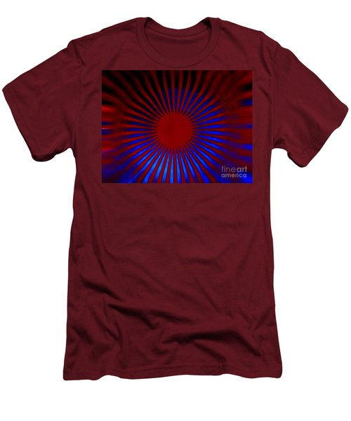Men's T-Shirt (Slim Fit) featuring the photograph Moving 2 by Trena Mara