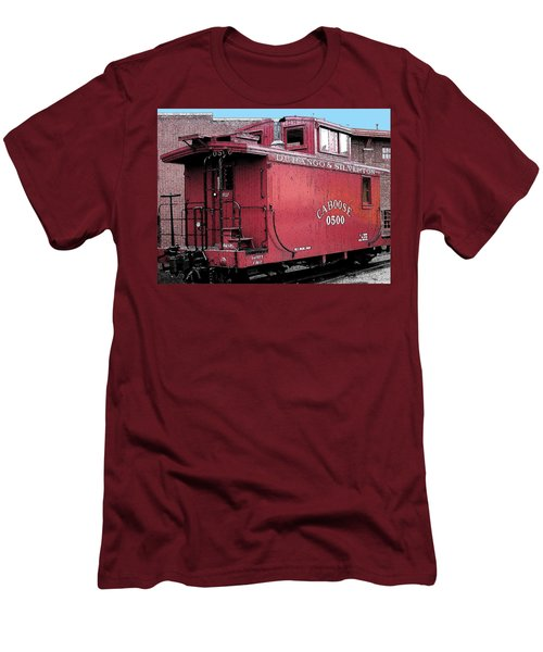 My Little Red Caboose Men's T-Shirt (Athletic Fit)