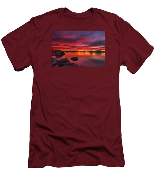 Nightfall Men's T-Shirt (Slim Fit) by Marc Crumpler