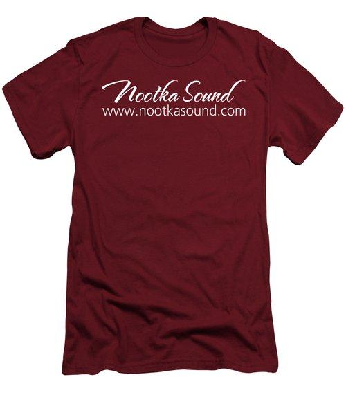 Nootka Sound Logo #14 Men's T-Shirt (Slim Fit) by Nootka Sound