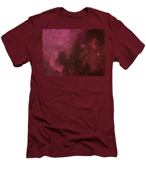 North American And Pelican Nebulas Men's T-Shirt (Athletic Fit)