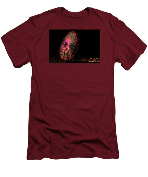 Ocean City Ferris Wheel 2 Men's T-Shirt (Athletic Fit)