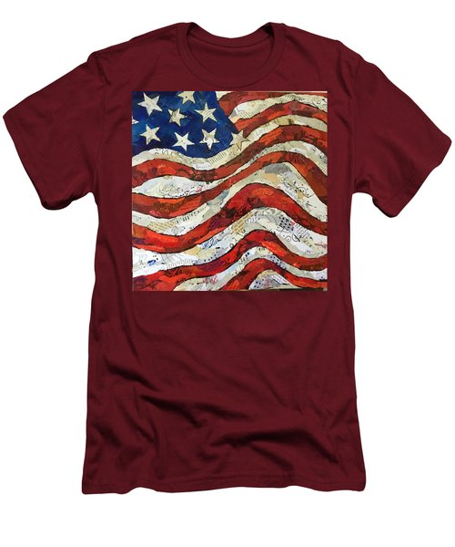Old Glory II Men's T-Shirt (Athletic Fit)