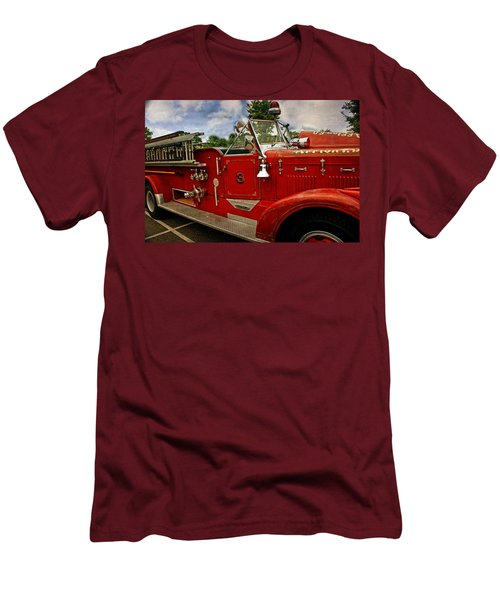 Men's T-Shirt (Slim Fit) featuring the photograph Old Number 3 by Marty Koch