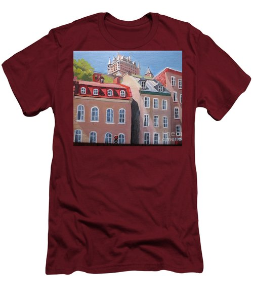 Old Quebec City Men's T-Shirt (Athletic Fit)