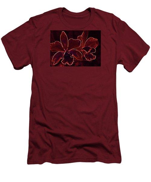 Orchids - For Pele Men's T-Shirt (Slim Fit) by Kerri Ligatich