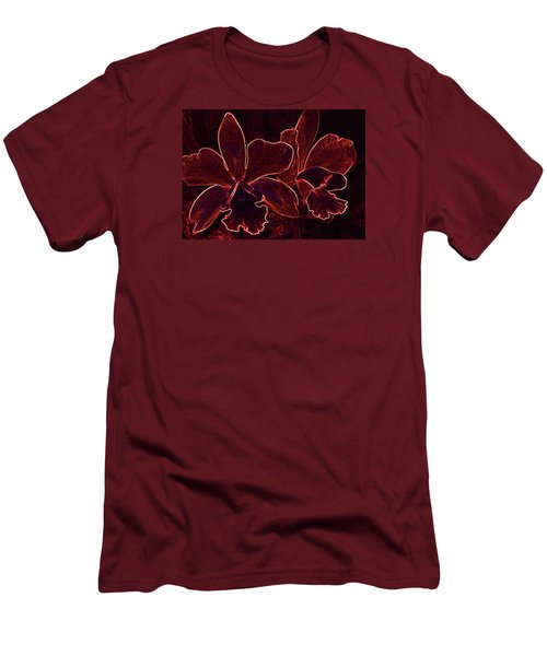 Orchids - For Pele Men's T-Shirt (Athletic Fit)