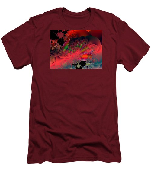 Oriental Inspired Men's T-Shirt (Slim Fit) by Ann Peck
