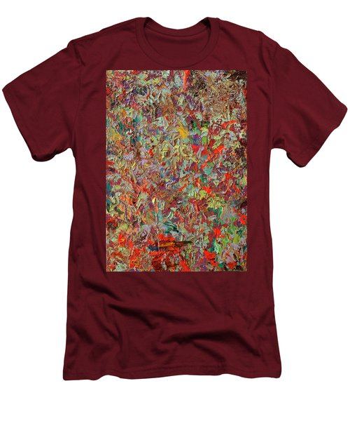 Paint Number 33 Men's T-Shirt (Slim Fit) by James W Johnson