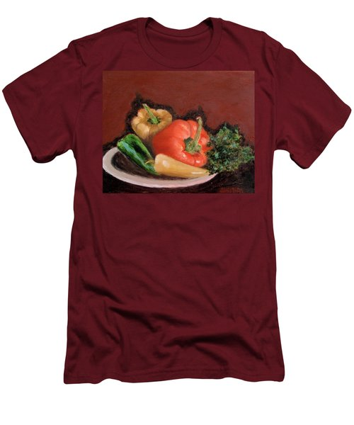 Peppers And Parsley Men's T-Shirt (Athletic Fit)