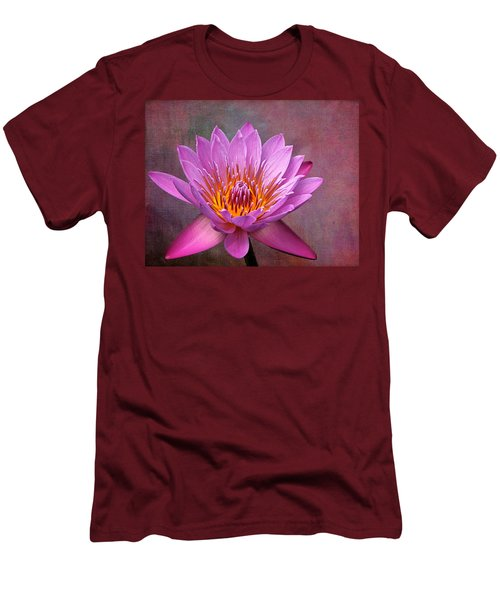 Pink Lady Men's T-Shirt (Slim Fit) by Judy Vincent