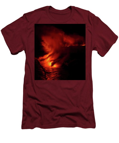 Predawn Pouroff Men's T-Shirt (Slim Fit) by Allen Biedrzycki