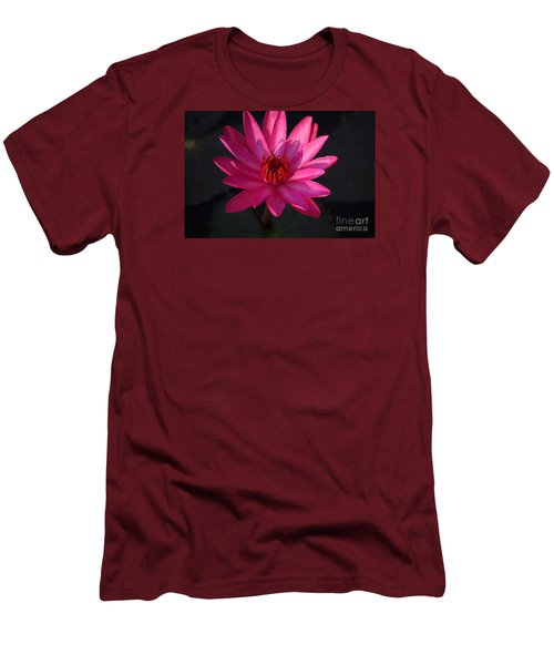Pretty In Pink Men's T-Shirt (Slim Fit) by John S