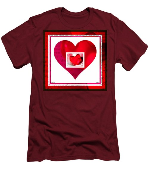 Psalm 19 Meditation  Men's T-Shirt (Athletic Fit)