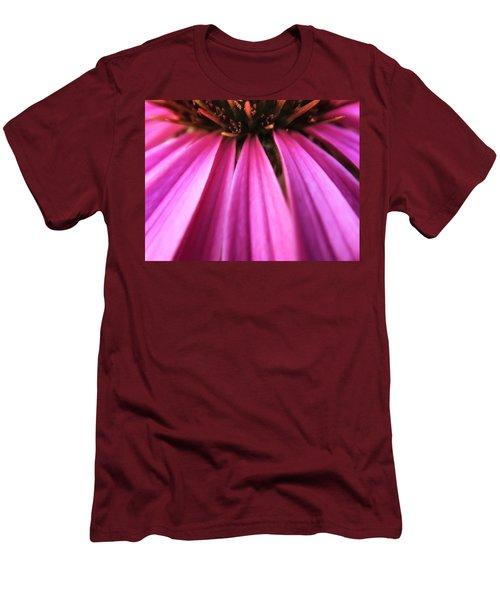 Men's T-Shirt (Slim Fit) featuring the photograph Purple Beauty by Eduard Moldoveanu