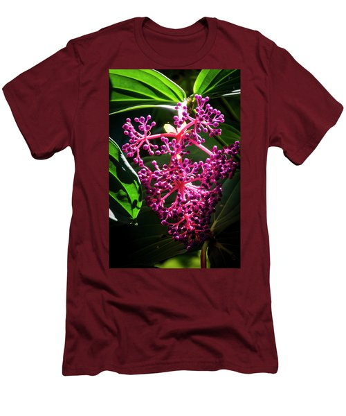 Purple Plant Men's T-Shirt (Athletic Fit)