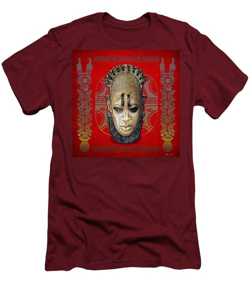 Queen Mother Idia  Men's T-Shirt (Slim Fit) by Serge Averbukh