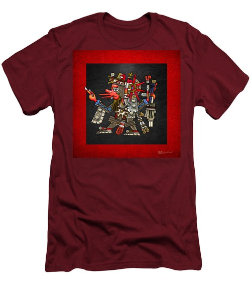 Quetzalcoatl - Codex Borgia Men's T-Shirt (Slim Fit) by Serge Averbukh
