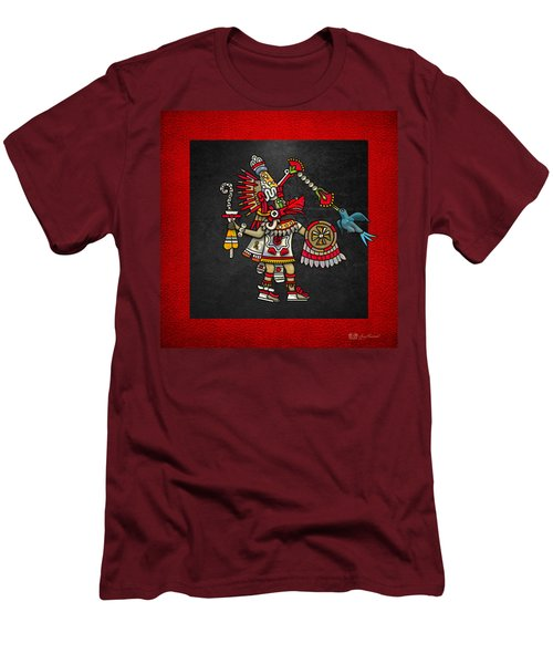 Quetzalcoatl - Codex Magliabechiano Men's T-Shirt (Slim Fit) by Serge Averbukh