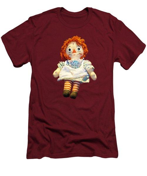 Raggedy Ann Doll Men's T-Shirt (Slim Fit) by Pamela Walton