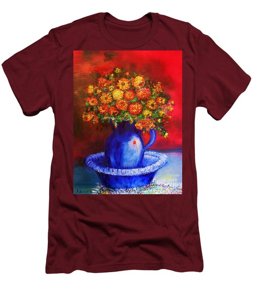 Men's T-Shirt (Athletic Fit) featuring the photograph Rags by Laurie L