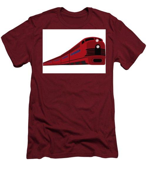 Rail Men's T-Shirt (Slim Fit) by Now