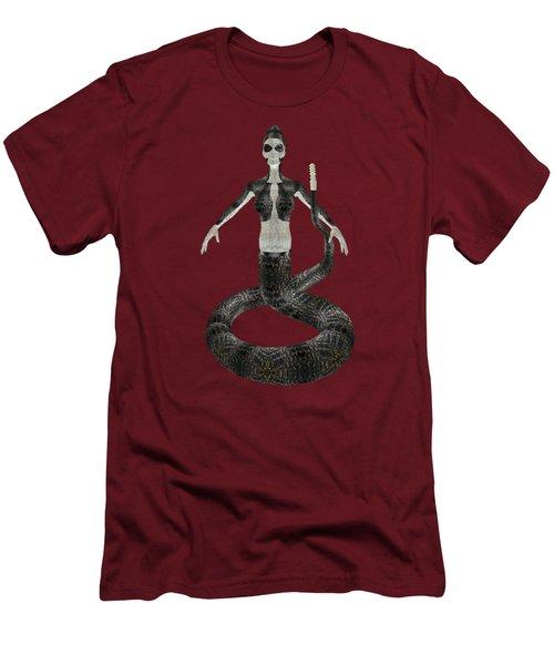 Rattlesnake Alien World Men's T-Shirt (Slim Fit) by Dora Hembree