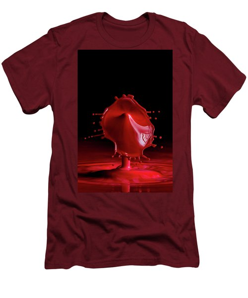 Red Drop Men's T-Shirt (Athletic Fit)