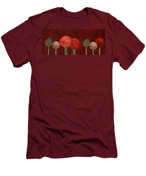 Red Grove Men's T-Shirt (Athletic Fit)