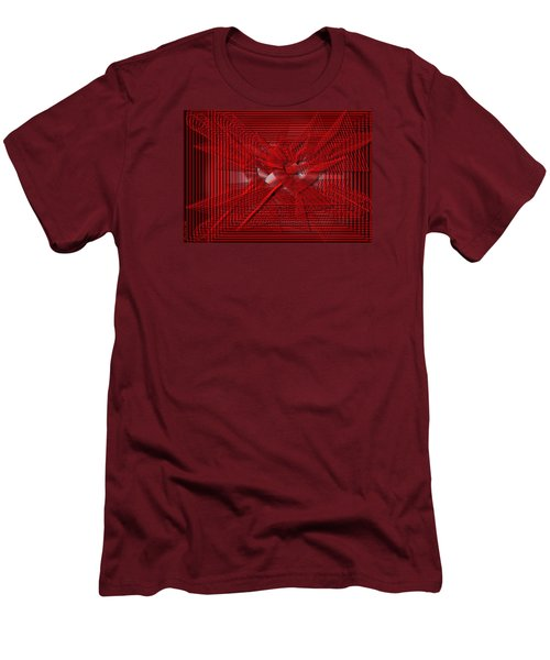 Red Heartwires Men's T-Shirt (Athletic Fit)