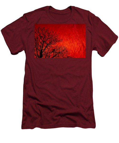 Red Storm Men's T-Shirt (Athletic Fit)