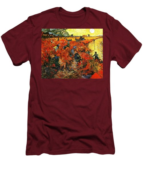 Red Vineyard Men's T-Shirt (Athletic Fit)