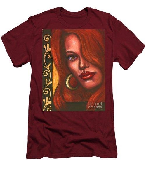 Redhead Men's T-Shirt (Slim Fit) by Alga Washington