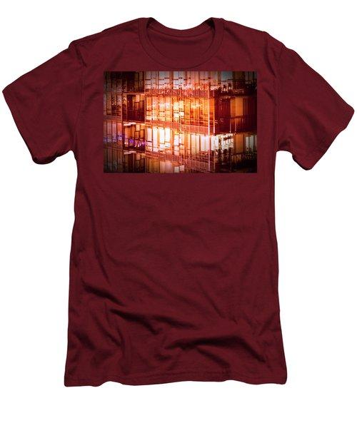 Reflectionary Phase Men's T-Shirt (Slim Fit) by Amyn Nasser