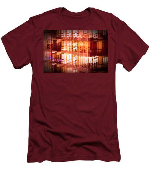 Reflectionary Phase Men's T-Shirt (Athletic Fit)