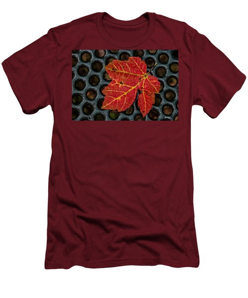 Resting From The Fall Men's T-Shirt (Athletic Fit)