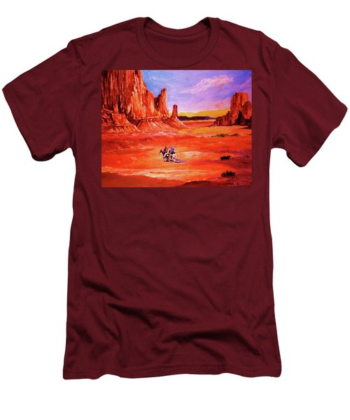 Riders In The Valley Of The Giants Men's T-Shirt (Athletic Fit)